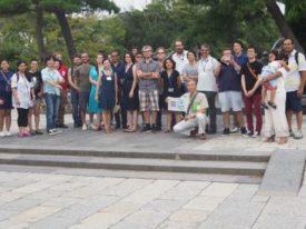 湘南国際村の国際会議出席者 侘茶で鎌倉を楽しむ