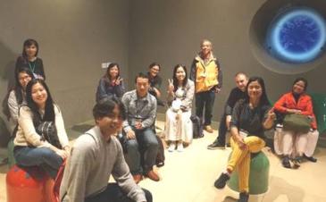 JICA研修員、日本民家園及び岡本太郎美術館を楽しむ