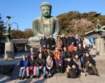 国際会議参加者 新春の古都鎌倉を満喫する
