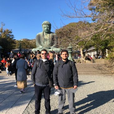 ミラネーゼも江の島からの富士山に感激!