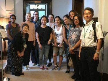 Guiding Yokohama for Saint Maur Parents