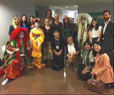 "Participating in Saint Maur International School ""Kabuki Class"""