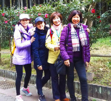 Malaysian Women Visit Kamakura with the Information Local People Don't Know