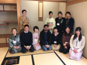 JICA Yokohama Participants Experience Tea Ceremony