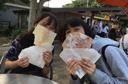 """Pilgrimage to the Holy Land"":  3 Chinese Women Visit Kamakura and Enoshima"