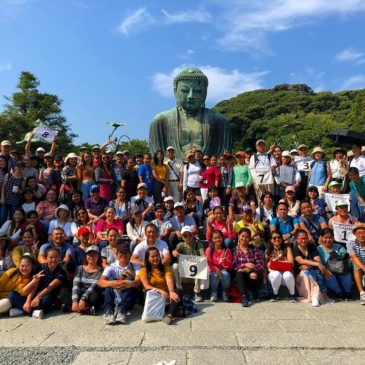 Philippines Care Work Trainees Visit Kamakura