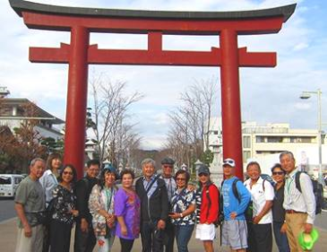 Six Sweet American Couples Visit Samurai Town