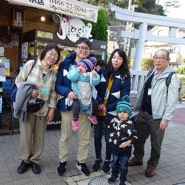 Enjoyable Stamp Rally in Enoshima with family