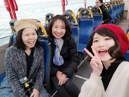 Malaysian Japan Lovers Ride Sky Duck, Amphibious Bus