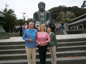 The Guide for an American Couple around Kamakura-They Love Kamakura!
