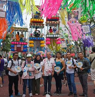 International Trainees Enjoy Star Festival in Hiratsuka
