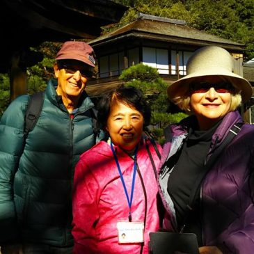 An Australian Couple Visits Sankeien Garden in Early Winter