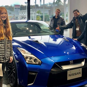 A Finnish Family Experiences New and Old Japan at Nissan's Auto Plant and Sankeien Garden